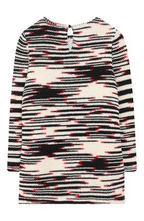 Шерстяное платье фактурной вязки | Фото №2
