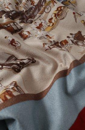 Мужского кашемировый плед LORO PIANA разноцветного цвета, арт. FAI2920 | Фото 2