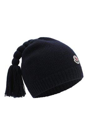 Шерстяная шапка с кисточками | Фото №1