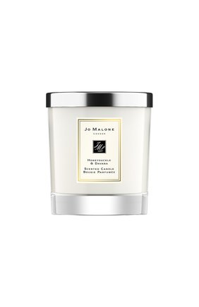 Свеча ароматная honeysuckle & davana JO MALONE LONDON бесцветного цвета, арт. L7JM-01 | Фото 1