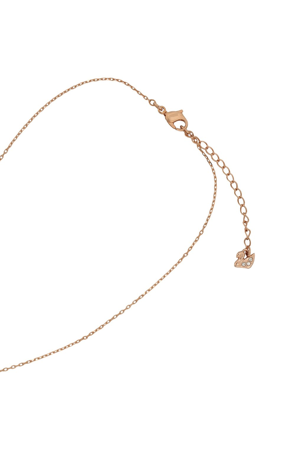 Женское ожерелье iconic swan double y SWAROVSKI золотого цвета, арт. 5351806 | Фото 3