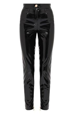 Однотонные брюки прямого кроя | Фото №1
