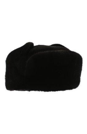 Меховая шапка-ушанка | Фото №1