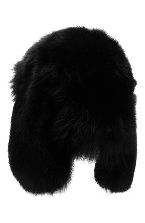 Мужская меховая шапка-ушанка SAINT LAURENT черного цвета, арт. 536426/4YB29 | Фото 2
