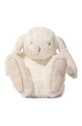 Детского плюшевая игрушка кролик TARTINE ET CHOCOLAT белого цвета, арт. T30330H | Фото 1