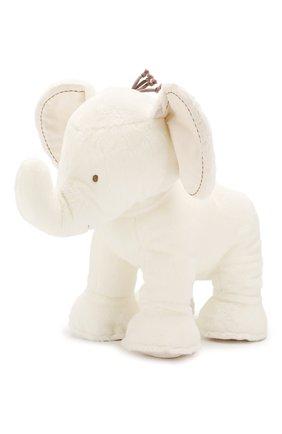 Детского плюшевая игрушка слон TARTINE ET CHOCOLAT белого цвета, арт. T30310H | Фото 1