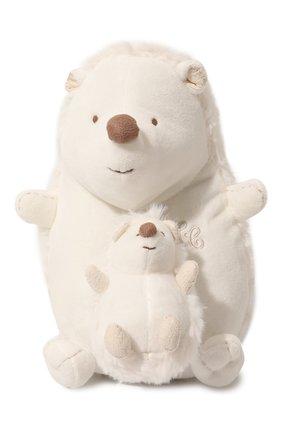 Детского плюшевая игрушка ежик TARTINE ET CHOCOLAT белого цвета, арт. T30601H | Фото 1