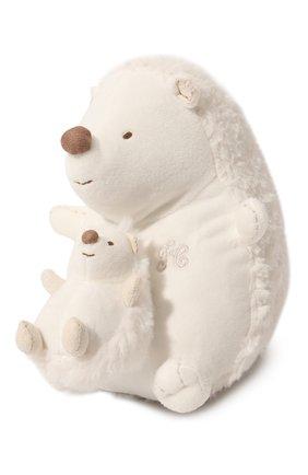 Детского плюшевая игрушка ежик TARTINE ET CHOCOLAT белого цвета, арт. T30601H | Фото 2