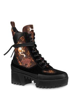 Ботинки Laureate на шнуровке с принтом Catogram | Фото №1