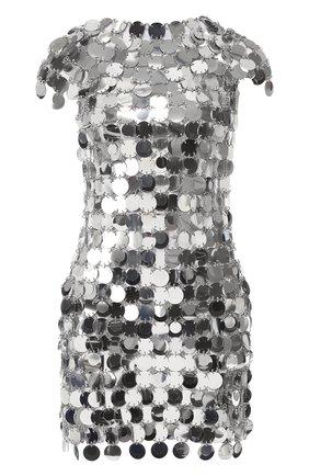 Платье-кольчуга с короткими рукавами   Фото №1