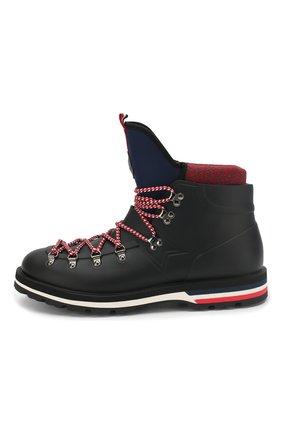 Мужские резиновые ботинки henoc MONCLER черного цвета, арт. D2-09A-10345-00-019Z3 | Фото 3