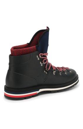 Мужские резиновые ботинки henoc MONCLER черного цвета, арт. D2-09A-10345-00-019Z3 | Фото 4