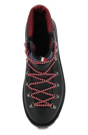 Мужские резиновые ботинки henoc MONCLER черного цвета, арт. D2-09A-10345-00-019Z3 | Фото 5