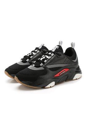 Комбинированные кроссовки B22 на шнуровке   Фото №1