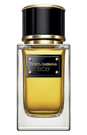 Женский парфюмерная вода velvet collection sicily DOLCE & GABBANA бесцветного цвета, арт. 3170050DG | Фото 1