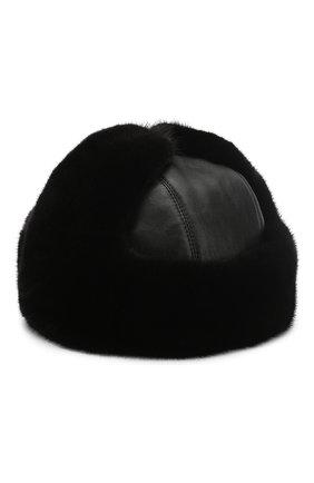 Меховая шапка-ушанка Мишка | Фото №1