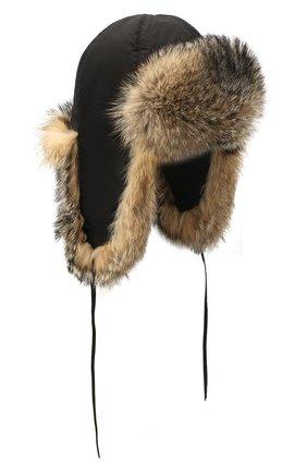 Меховая шапка-ушанка Стильная | Фото №1