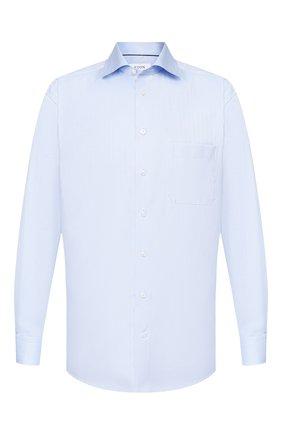 Мужская хлопковая сорочка ETON голубого цвета, арт. 3441 79011 | Фото 1