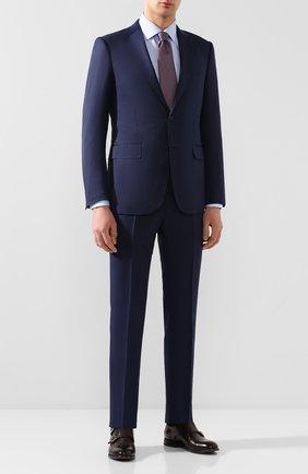 Мужская хлопковая сорочка ETON голубого цвета, арт. 3441 79011 | Фото 2