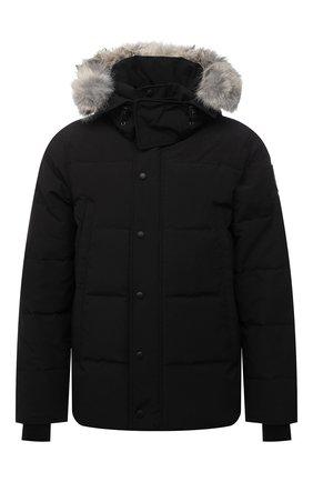 Мужская пуховая куртка wyndham CANADA GOOSE черного цвета, арт. 3808MB | Фото 1