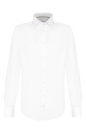 Мужская хлопковая сорочка ETON белого цвета, арт. 3441 79511 | Фото 1