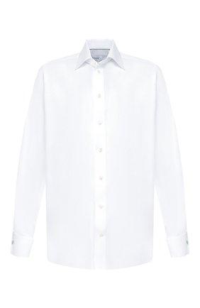 Мужская хлопковая сорочка с воротником кент ETON белого цвета, арт. 3153 78012 | Фото 1