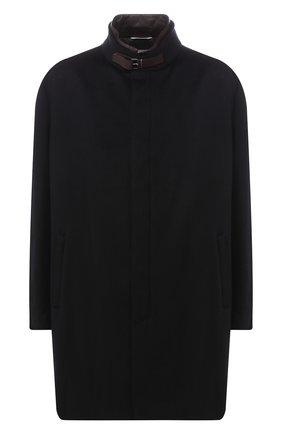 Кашемировое пальто на молнии | Фото №1