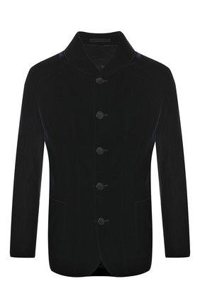 Однобортный пиджак из вискозы   Фото №1