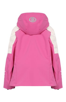 Детская куртка с капюшоном BOGNER KIDS розового цвета, арт. 3558M901 | Фото 2