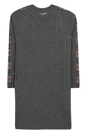 Мини-платье из смеси шерсти и кашемира | Фото №1