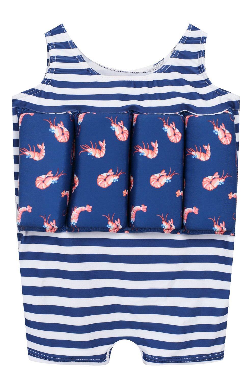 Детского купальный костюм с поддерживающими вставками SUNUVA синего цвета, арт. S9442/1-6 | Фото 2