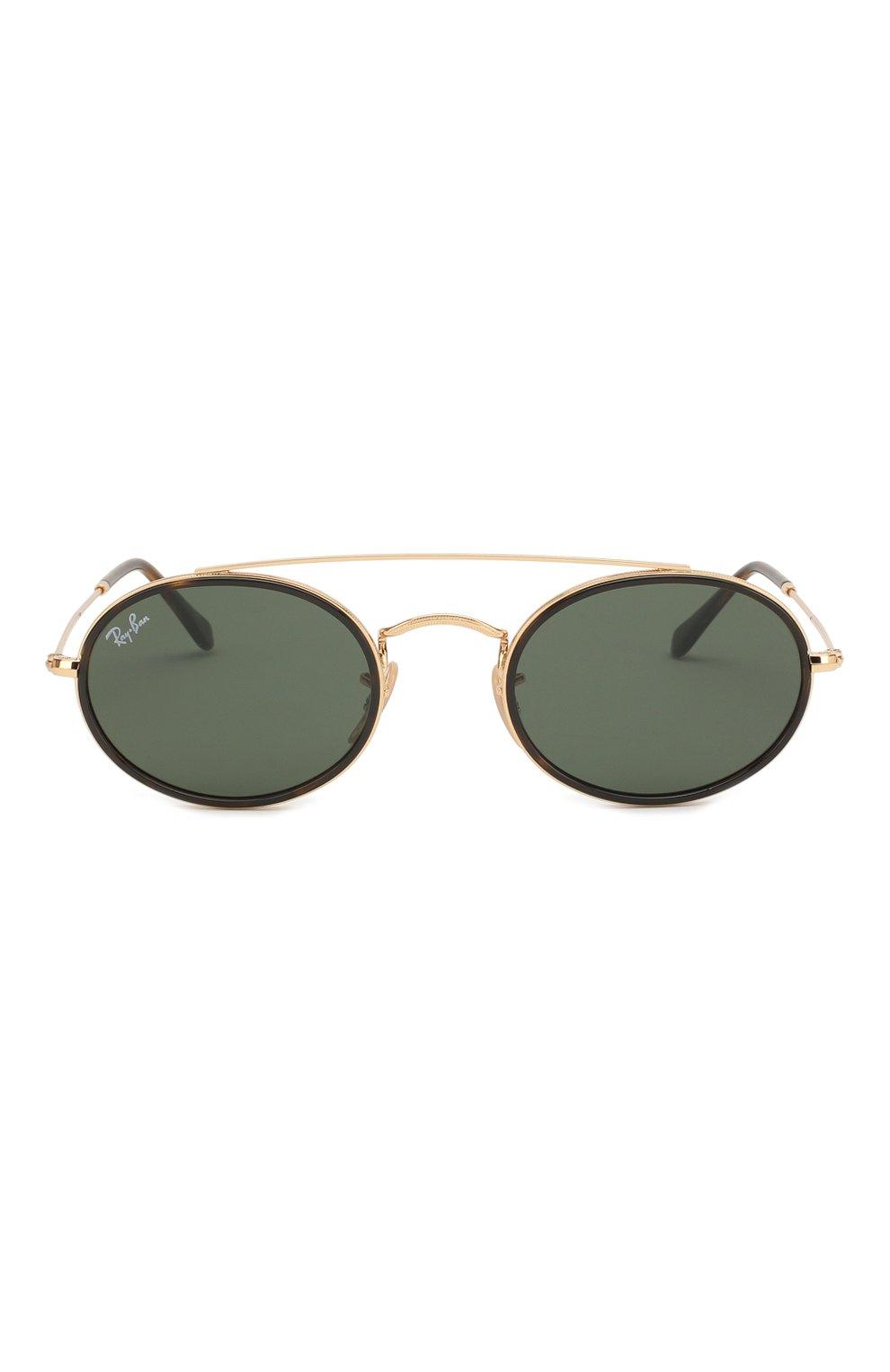 Женские солнцезащитные очки RAY-BAN темно-зеленого цвета, арт. 3847N-912131   Фото 3