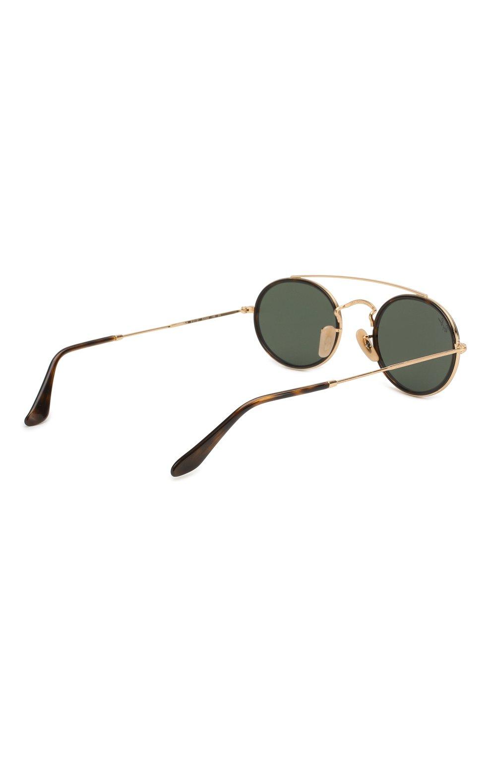 Женские солнцезащитные очки RAY-BAN темно-зеленого цвета, арт. 3847N-912131   Фото 4