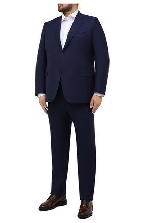 Мужской шерстяной костюм CANALI синего цвета, арт. 11280/10/AA00099/60-64 | Фото 1