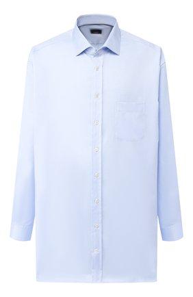 Мужская хлопковая сорочка с воротником кент VAN LAACK голубого цвета, арт. TIVARA2-PCF/161258 | Фото 1