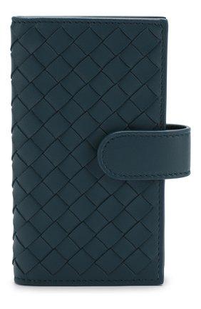 Кожаный футляр для ключей с плетением intrecciato   Фото №1