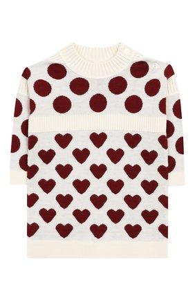 Женский кашемировое платье BURBERRY разноцветного цвета, арт. 8003937 | Фото 1