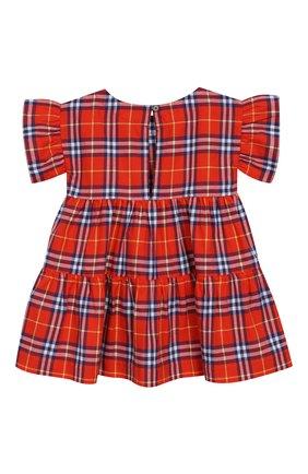 Женский хлопковое платье BURBERRY разноцветного цвета, арт. 8003414 | Фото 2
