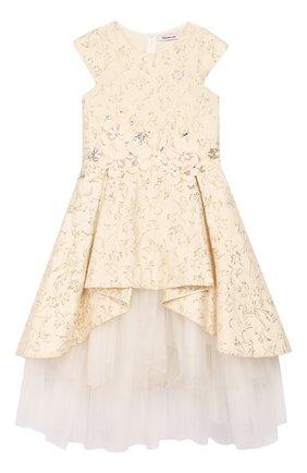 Платье-миди с пышной юбкой | Фото №1