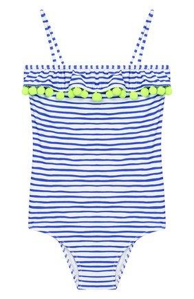 Детского слитный купальник SUNUVA голубого цвета, арт. S9057/7-14 | Фото 1