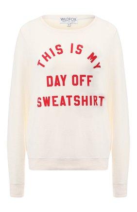 Пуловер с круглым вырезом   Фото №1