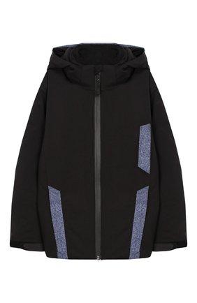 Куртка Hassel на молнии с капюшоном | Фото №1