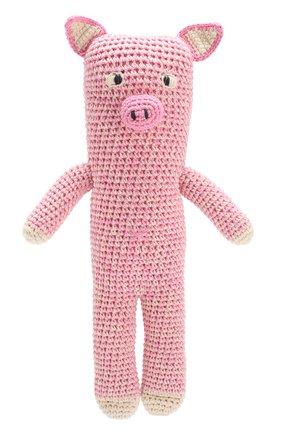 Детского хлопковая игрушка ANNE-CLAIRE PETIT светло-розового цвета, арт. 300-034-146 | Фото 1