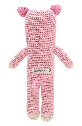 Детского хлопковая игрушка ANNE-CLAIRE PETIT светло-розового цвета, арт. 300-034-146 | Фото 2