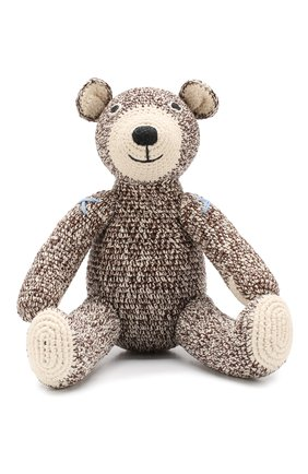 Детского хлопковая игрушка ANNE-CLAIRE PETIT коричневого цвета, арт. 300-078-070 | Фото 1