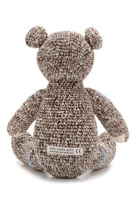 Детского хлопковая игрушка ANNE-CLAIRE PETIT коричневого цвета, арт. 300-078-070 | Фото 2