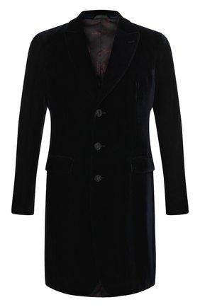 Однобортное пальто из вискозы | Фото №1