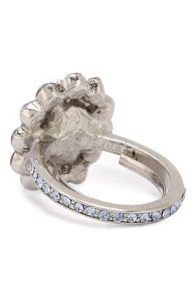 Кольцо с отделкой из кристаллов Swarovski | Фото №2