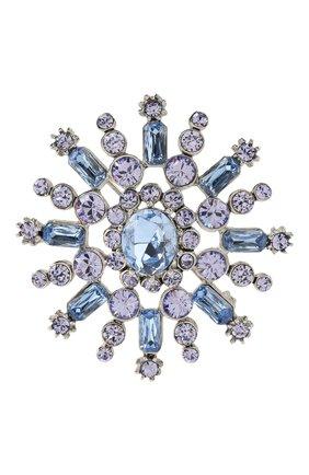 Брошь с отделкой из кристаллов Swarovski   Фото №1