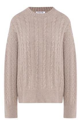 Однотонный кашемировый пуловер | Фото №1